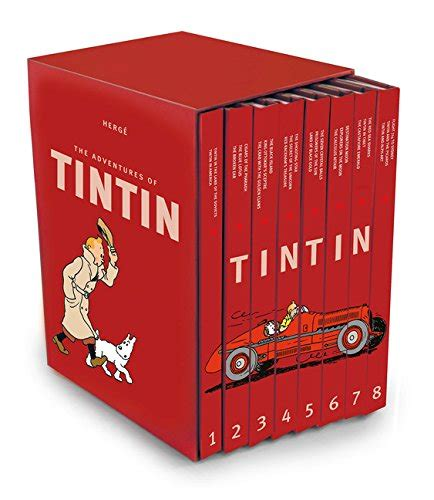 the complete adventures of tintin adventures of tintin compact editions the complete adventures of tintin collection 8 books box