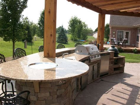 outdoor bar top outdoor kitchen firepit bar top outdoor spaces pinterest