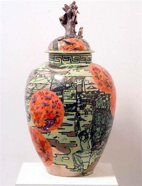 Glazed Pottery Vases Grayson Perry Barbaric Splendour Contemporary Art