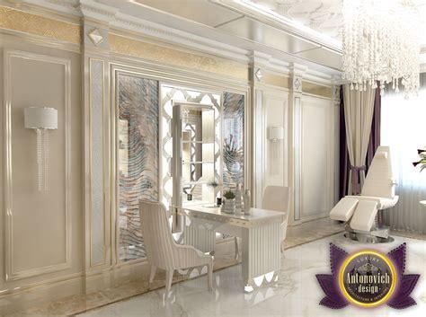 design of interior beauty salon of katrina antonovich by luxury antonovich design uae design of interior beauty