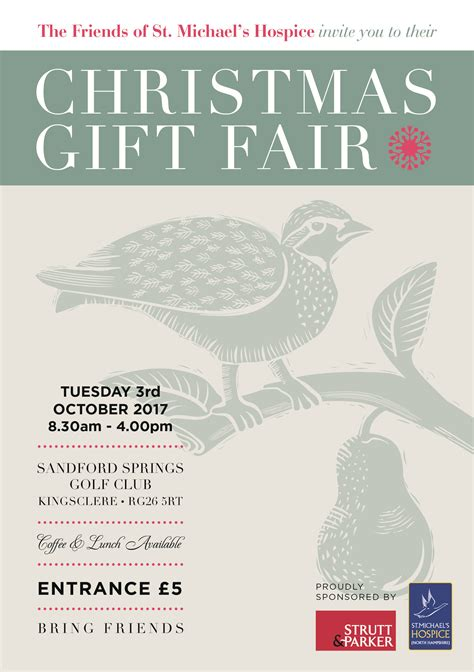 st michael s hospice christmas gift fair 3 10 17 charity