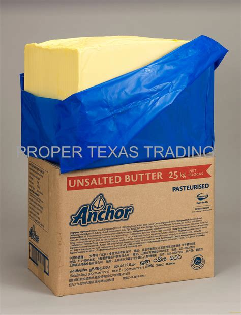 Unsalted Butter Shelf by Anchor New Zealand Origin Fonterra Unsalted Butter 82