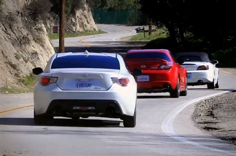scion fr s pitted against oldtimers rx 8 and s2000