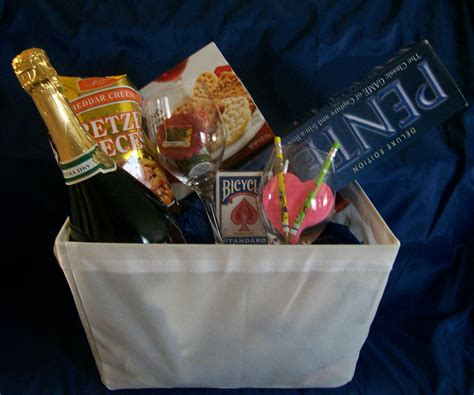 game gift basket ideas for a couple all about fun and games