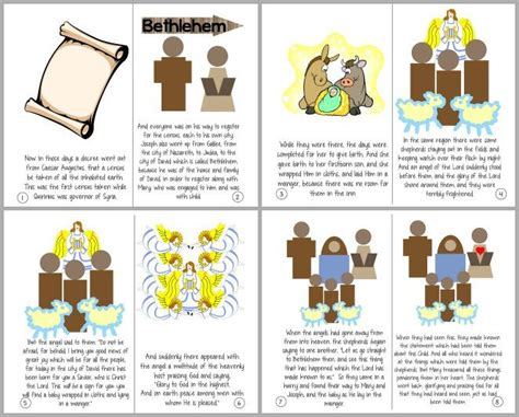printable children s nativity story the christmas story luke 2 1 20 printable booklet pray