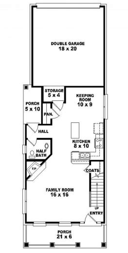 house plans for a narrow lot fascinating 17 best ideas about narrow house plans on