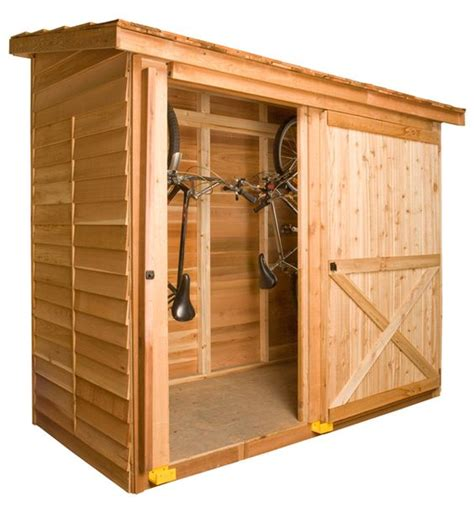 Sheds With Sliding Doors by Cool Compact Storage With A Sliding Door Compact Modern