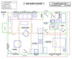 Guest House Designs by Free Guest House Floor Plans Woodworker Magazine