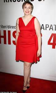lena dunham red carpet lena dunham ditches the shorts and dazzles on the red