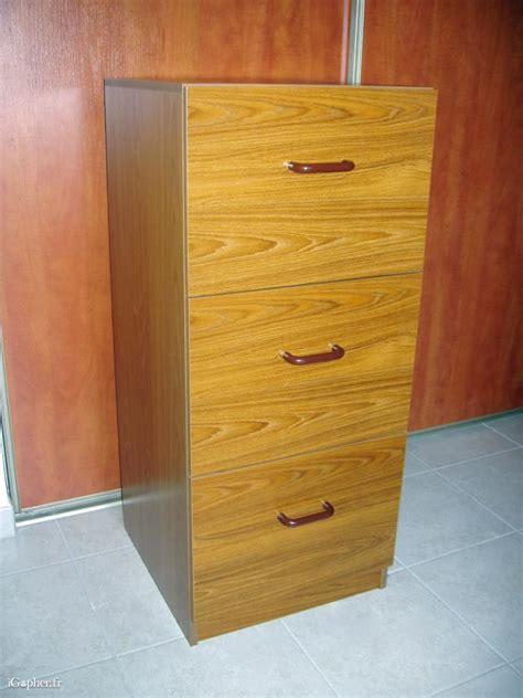 classeur tiroirs dossiers suspendus classeur en bois 3 tiroirs pour dossiers suspendus