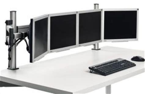 computer halterung schreibtisch hochwertige schreibtisch monitorhalterung f 252 r 4