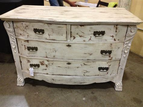 White Vintage Dressers by Shabby Chic White Carved Vintage Dresser