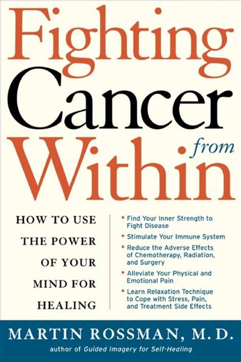 the cancer fighters saving with cancer books fighting cancer from within martin l rossman macmillan