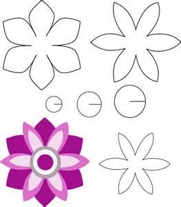 patrones de fieltro gratis para imprimir buscar con patrones de flores de fieltro buscar con google aa