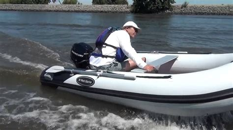 inflatable boat bunnings aluminum hull rigid inflatable boat overview youtube