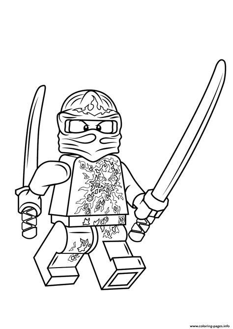 Lego Ninjago Kai Nrg Coloring Pages Printable Ninjago Coloring Pages Pdf