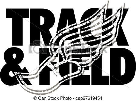 Field Designs Line For Payless by Clipart Vector Of Track Field Design With Distressed