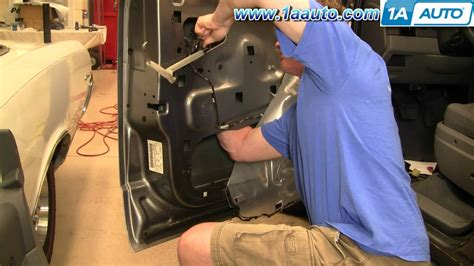 How To Replace Front Door Lock How To Install Replace Front Door Lock Actuator Dodge Durango 04 09 1aauto