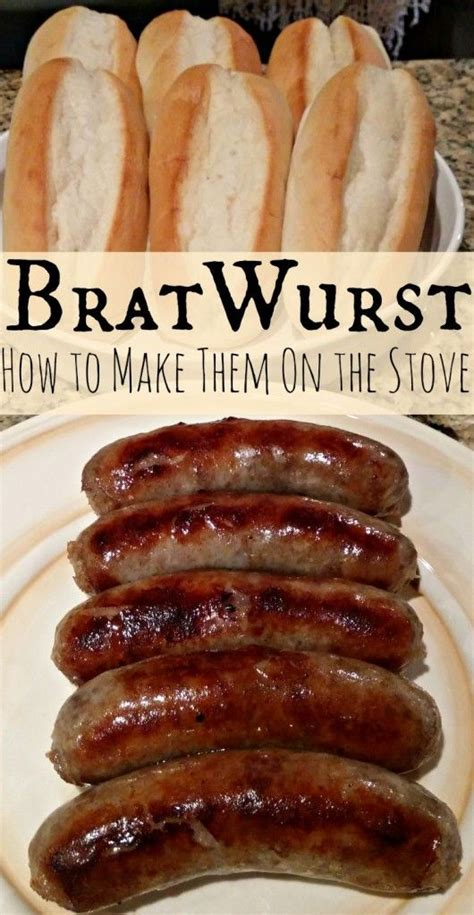 bratwurst ingredients bratwurst recipe cooking brawts over the stove recipe