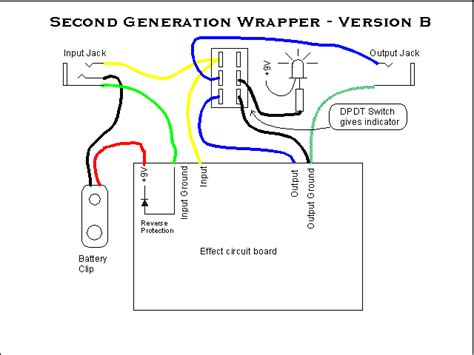 schematic 3pdt stomp schematic get free image about