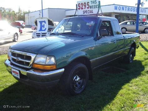 1998 pacific green metallic ford ranger xlt extended cab 37777029 gtcarlot car color