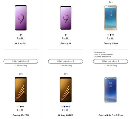 Harga Samsung J2 Lama Dan Baru daftar 12 hp samsung terbaru edisi agustus 2018