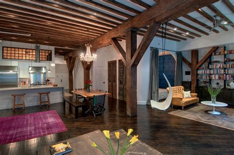 brooklyn studio industrious home renovation loft design 秋千图片大全 土巴兔装修效果图