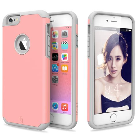 Rubber Hardcase Cover For Iphone 6s Iphone 6s shockproof rugged hybrid rubber cover for apple iphone 6s plus 6 plus ebay