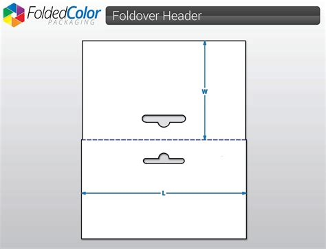 header card design template create your own custom size foldover header cards