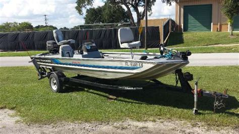tracker boats for sale in florida tracker pro 17 boats for sale in florida