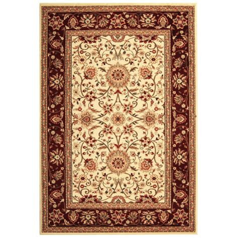 Area Rug 5 X 6 Safavieh Lyndhurst Ivory 5 Ft 3 In X 7 Ft 6 In Area Rug Lnh212k 5 The Home Depot
