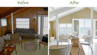 painting paneling before and after before and after painted wood panelling to make a dark