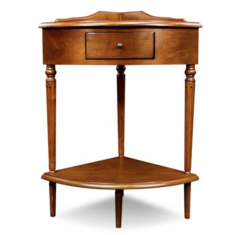 leick corner accent table amazon com leick corner accent table kitchen dining