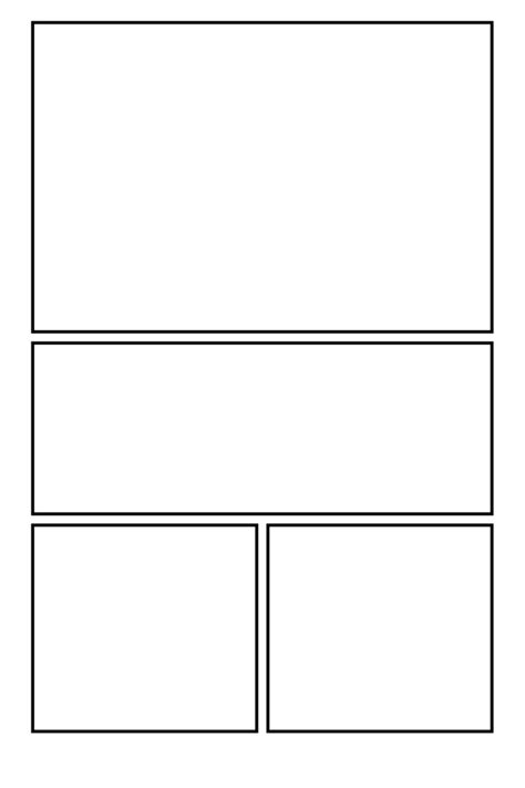 comic book layout template comic clear 19 by comic templates on deviantart