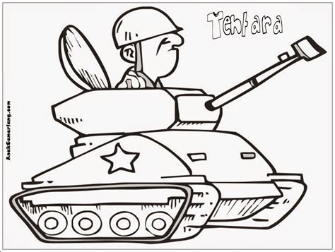 Coloring Mewarnai Profesi gambar mewarnai profesi tentara education