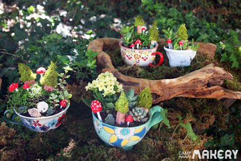 Flower Pot Sale by Create A Miniature Teacup Garden Camp Makery