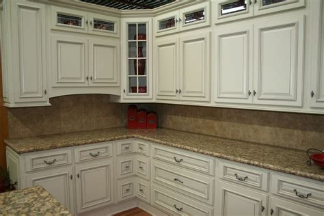 Custom White Kitchen Cabinets Stone Wood Design Center Kitchen White Cabinets