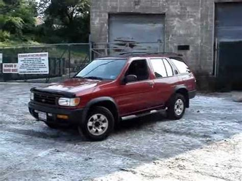 pathfinder nissan 1998 1998 nissan pathfinder se 4x4 youtube