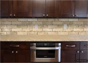 Subway Tiles Kitchen Backsplash Pics Photos Small Glass Travertine Subway Backsplash Tile