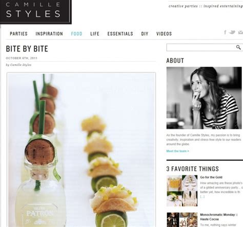 lifestyle blog design camille styles lifestyle blog bite by bite cookbook