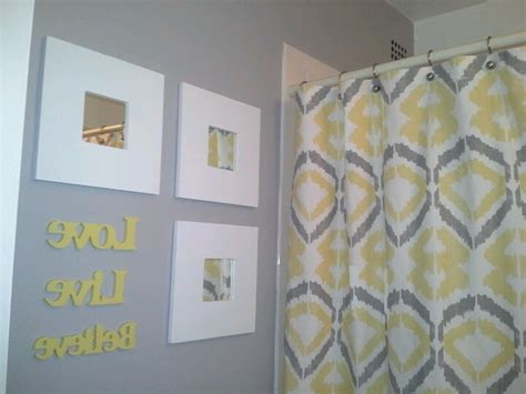 Yellow And Grey Bathroom Set yellow gray bathroom inspiration yellow gray