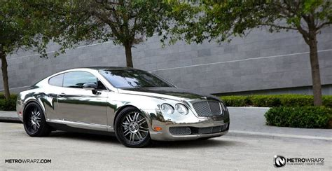 chrome bentley chrome bentley by metro wrapz