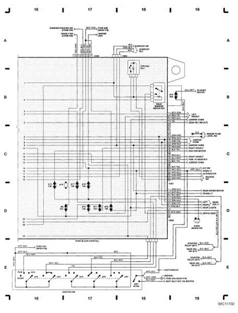 2005 honda civic power window wiring diagram 2005 free