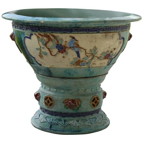 chinese ceramic large garden planter at 1stdibs