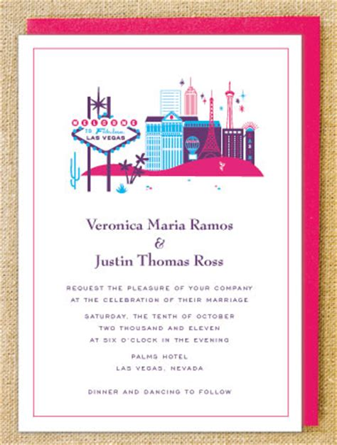 wedding invitations vegas visit las vegas wedding invitations invitation crush