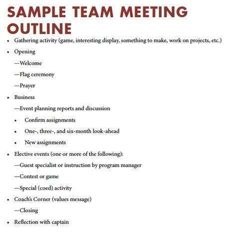 team meeting agenda varsity vision part 6 planning team meetings the boy
