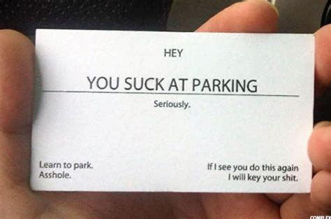 Bad Driver Business Cards