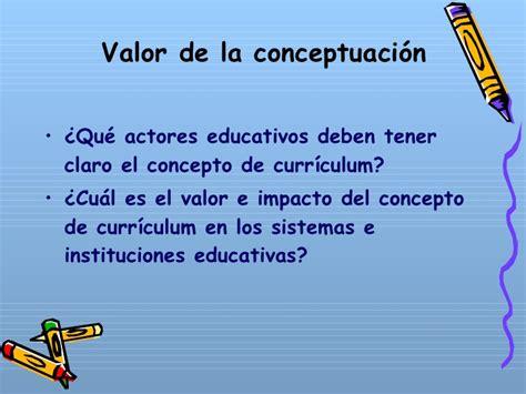 Diseño Curricular Prescriptivo Definicion Fundamentos Estudio Curriculum