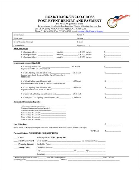 sle post mortem report post event report template 28 images 7 event reporting