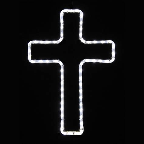 shop holiday lighting specialists 1 5 ft small cross